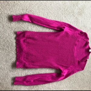 Pink J.Crew sweater